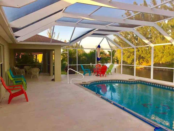 Private room 3 bed shared bath.Gulf Access viewW/F
