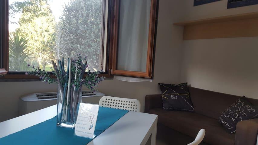 Monolocale con giardino e posto macchina - Fiumaretta di Ameglia - Appartement
