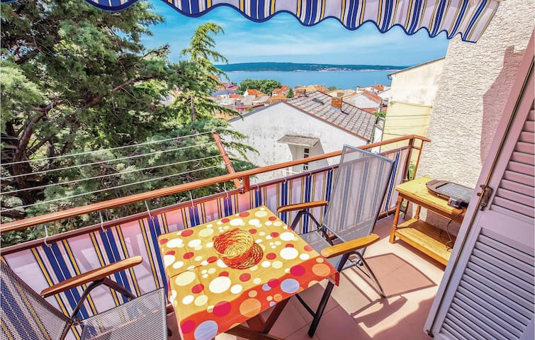 Holiday apartment with 1 bedroom on 53m² in Selce
