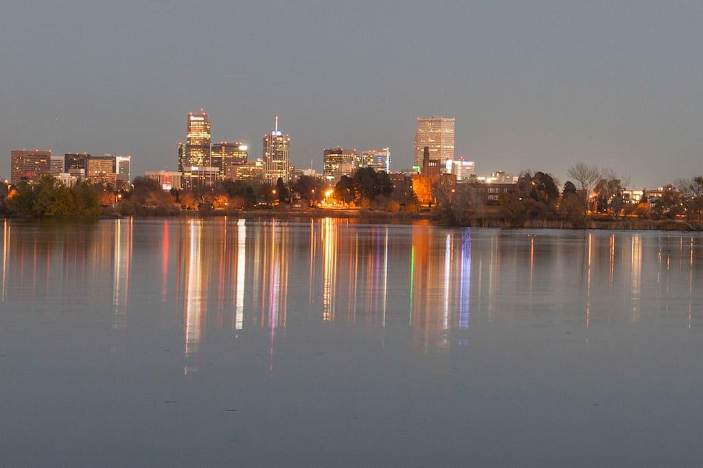 a 3-minute walk to Sloan's Lake