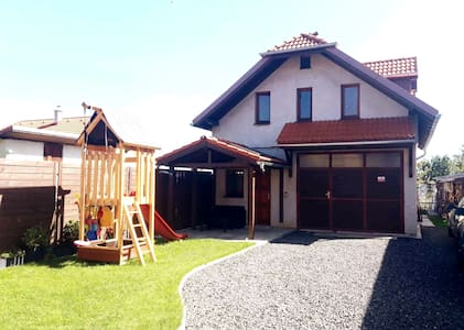 Smart house Poprad Tatry 90m2, new/secure/top site