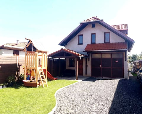 Casa inteligente Poprad Tatry 90m2, novo/seguro/top site