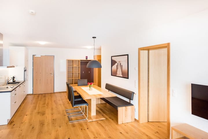 Appartement mit 2 Schlafzimmer und Südbalkon