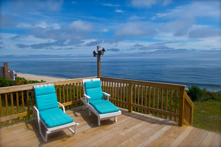 #336: Oceanfront with private association beach! Water views from every room!