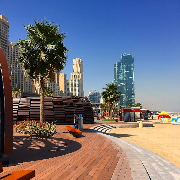 JBR 2BR Walking to Open Beach and Blue Water