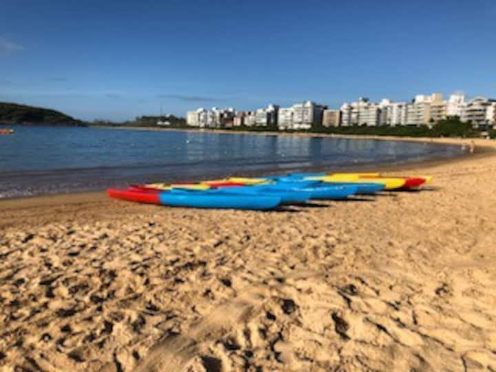 Praia de Peracanga-FRENTE PARA O MAR