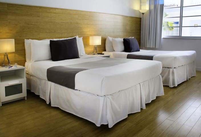 Aqua Hotel and Suites, Standard Two Double Beds