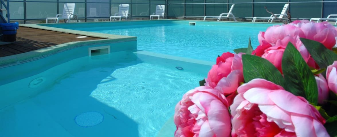 Two room Apartments with panoramic swimming pool - Cattolica - Flat