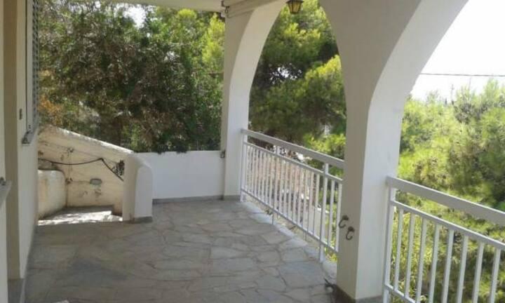 希腊海景别墅,独立房间,无敌海景,辽阔视野,如果需要,专人接送机。