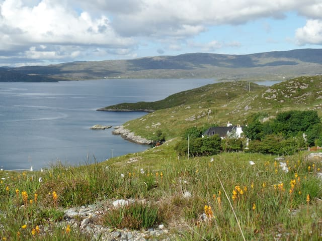 Old Croft - charming seaside cottage n. Tarbert