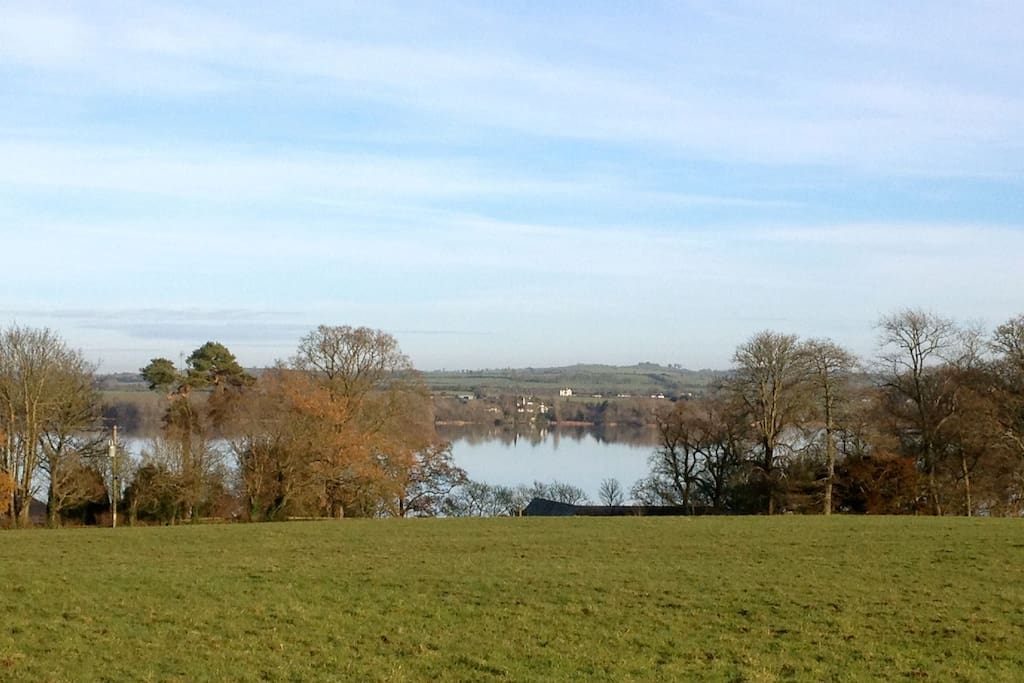 Lough Derg, viewed from the farm