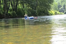 Tubing the New River
