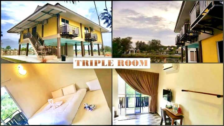 Triple Room@ Trong Leisure Farm&Resort 自农休闲农庄