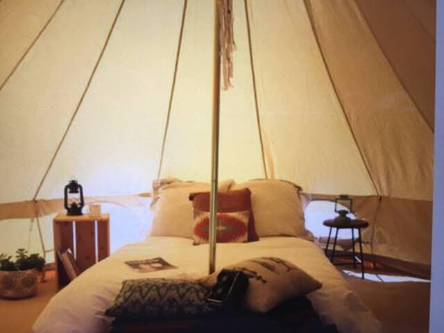Bell Tent Garden Campsite