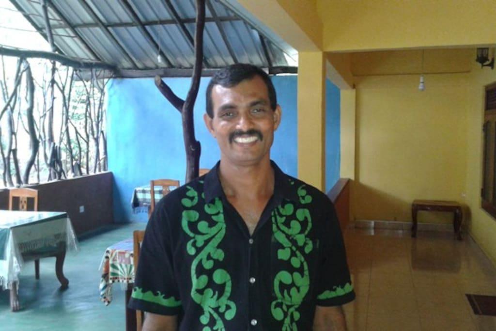 meet Ajith the host