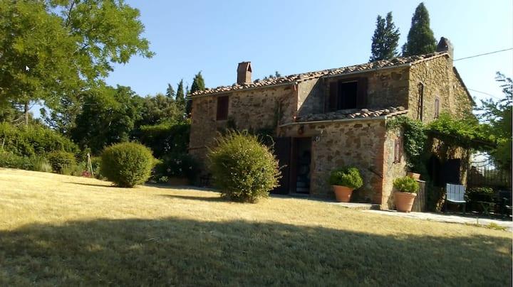 Bellissima casa di campagna con una vista stupenda