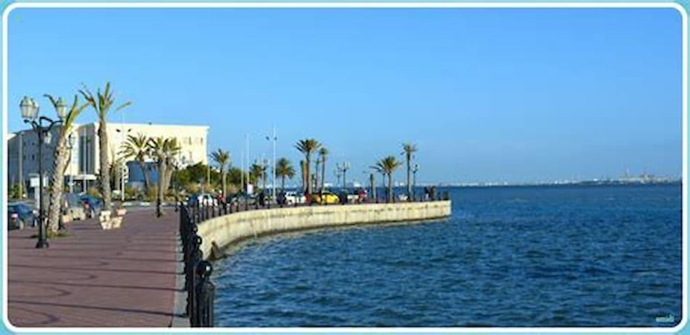 lac Tunis 15mn de plage/ctr ville/site touristique