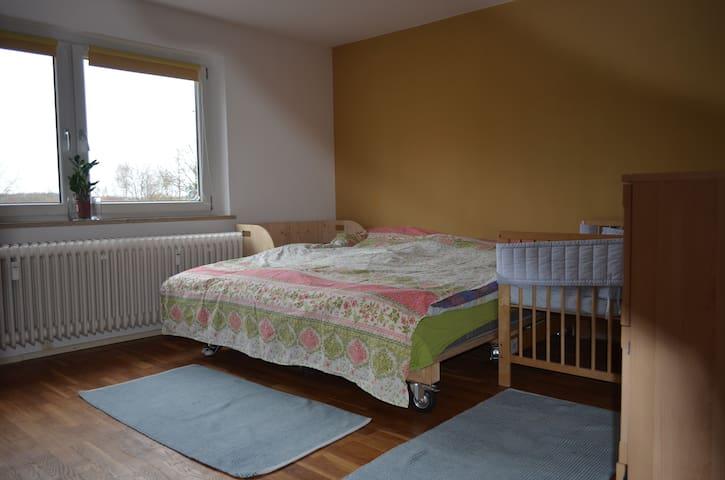 Familien 3 Zimmer Wohnung mit Gatren und Tarrase - Wendelstein - Apartment