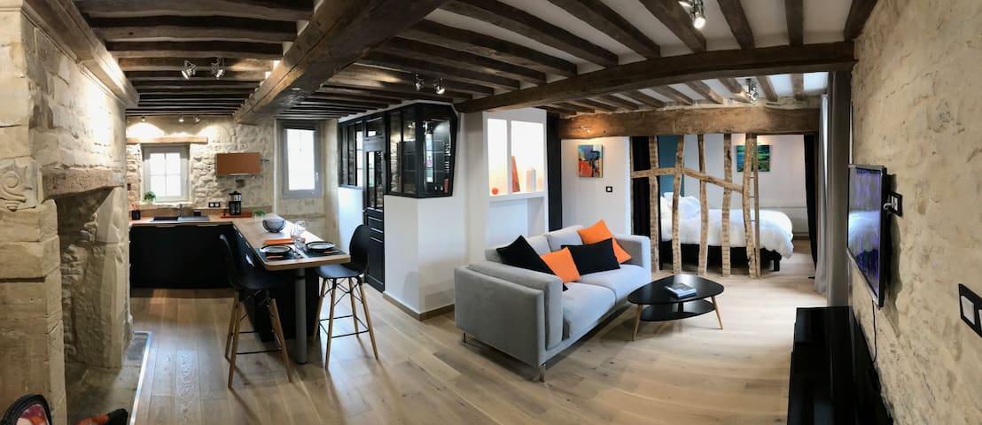 Appartement de charme avec vue sur le port Etage 1