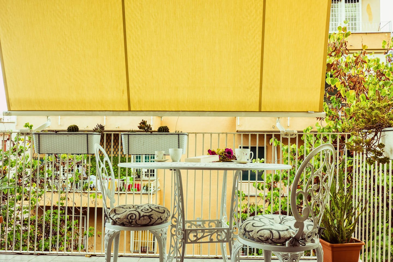 Enjoy your breakfast in our nice terrace