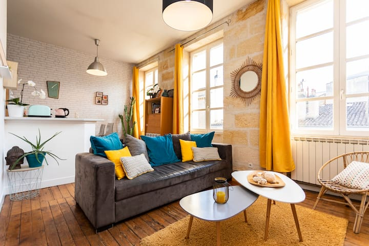 Bel appartement ancien,  quartier chic de Bordeaux