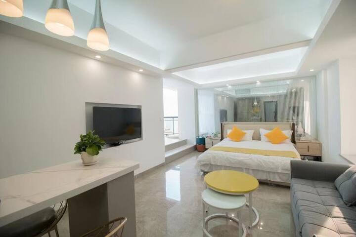 南澳岛·[2019新房]高层落地玻璃房、室内海上日落、绝无仅有的隐藏式全自动麻将桌房