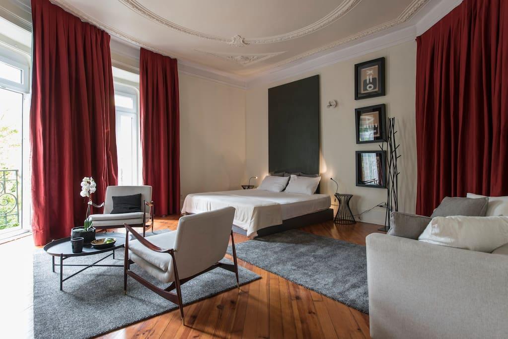 Your spacious Luxury Design Suite