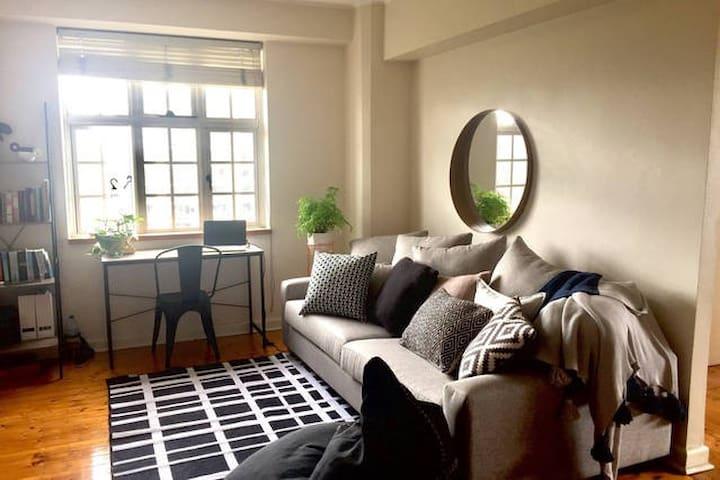 Master room, king bed, great views - Elizabeth Bay - Daire