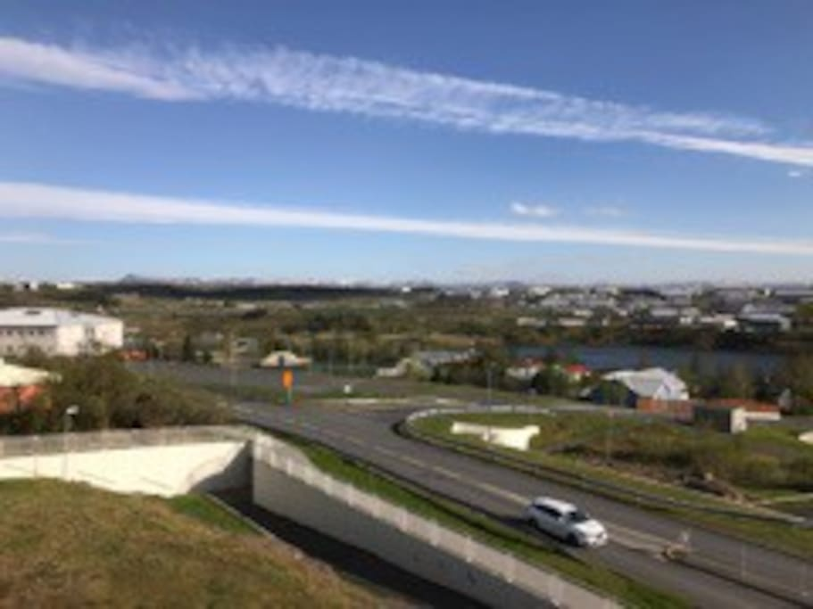 An Amazing view over Reykjavík 15min from DOWNTOWNIceland,,This spacious is 88 square meters.On 3 floor
