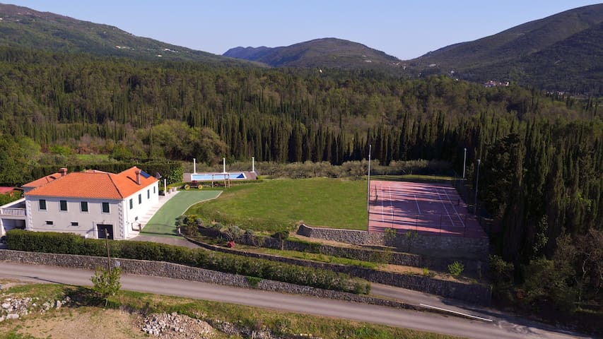 Villa Milicic-pool,tennis&football,gym,sauna,vine - Zastolje - Casa de campo
