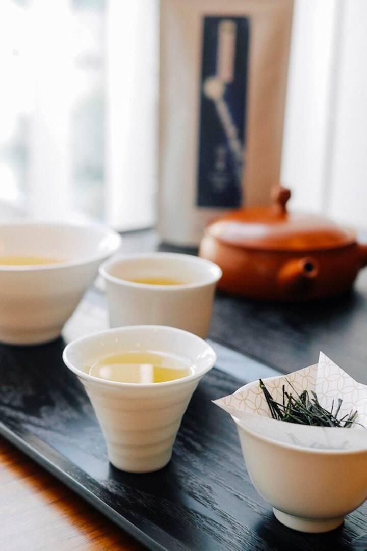 シングルオリジンの日本茶の味わい方を教わります