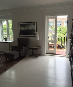 130 m2 city apartment with balcony - Frederiksberg - Apartment