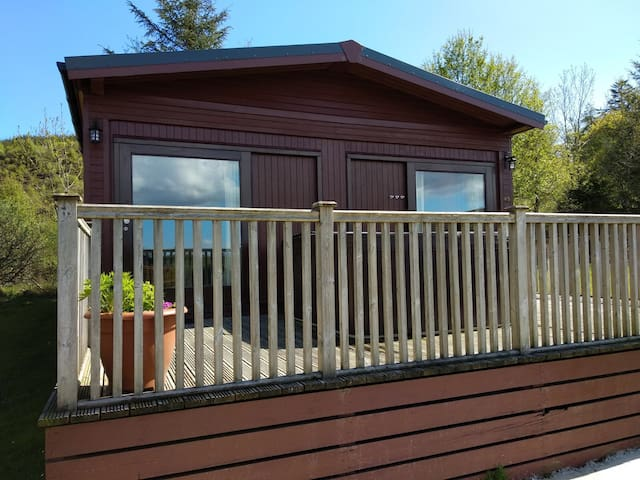 Skye Lodge with private hot tub
