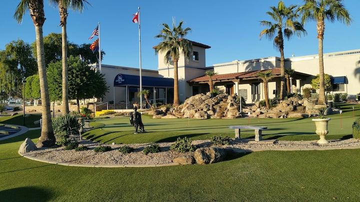Newer very roomy park model in 55+ gated Resort