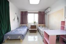 北京南站地铁4号线陶然亭桥旁永定门地铁14号线附近舒适床位