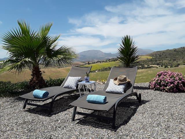 Casa al Cerro, studio 2p, keuken, privé-terras.