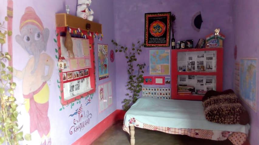 Single bed in dormetry