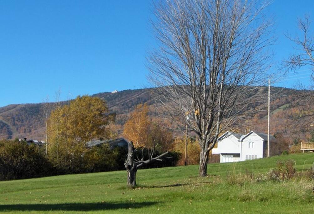 Vu sur le Mont Ste-Anne..à deux minutes de la maison.