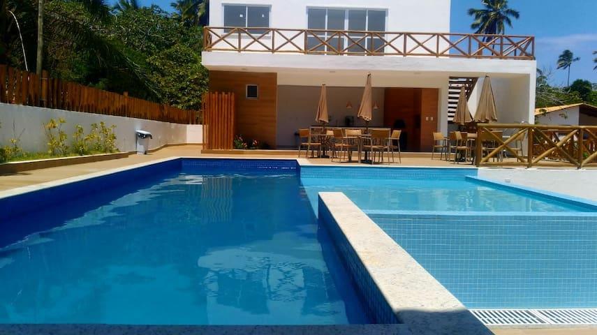 Casa Mobiliada - Praia Ímbassaí