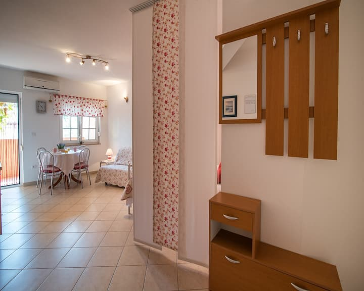 Studio Andmar 1 near the center, with WiFi and AC