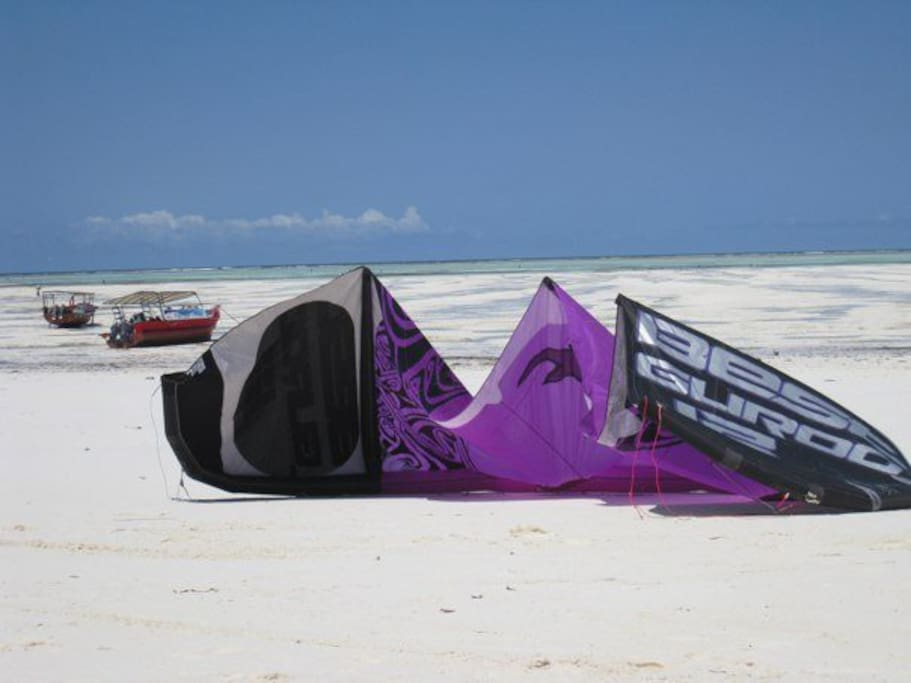 Kite beach closeby