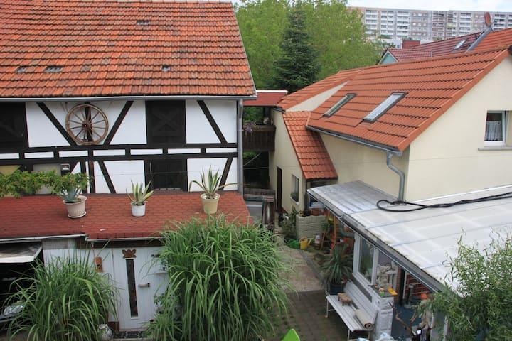 Haus zum Kranich im Erfurter Süden