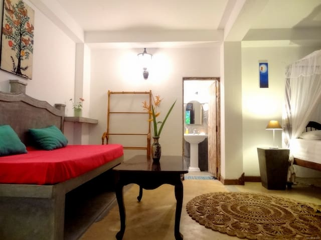 French Lotus - Bed Room Lolaya 50m² 2+1 persons - Unawatuna - Casa