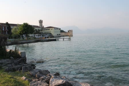 18 5 STAR WITH LAKE VIEW AND PRIVATE BEACH - Sirmione - Wohnung