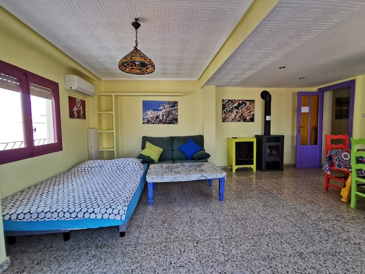 Large Double Bedroom near the beach for 2 persons