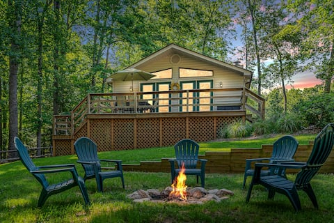 Cozy Lake Anna Hideaway with Water & Beach Access