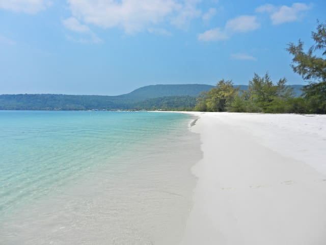 Palm Beach Bungalow Resort - Krong Preah Sihanouk - Bungalow