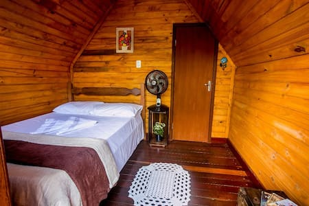 Chalés madeira - Área interna