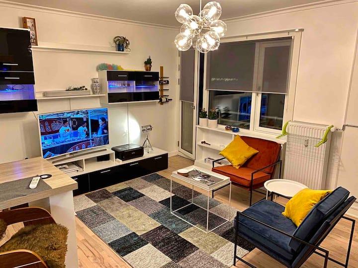 Cozy luxury Scandinavian style flat near city cent
