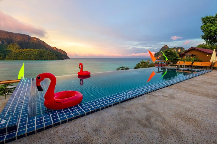 Budget Space on Phi Phi with Lovely Pool Access!